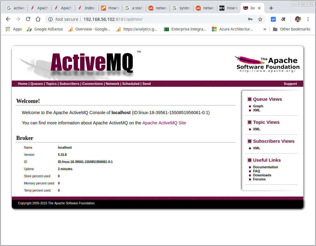 Installing and Configuring Apache ActiveMQ on Ubuntu 18 – code4copy